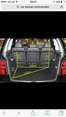 Vw Touran Boot Dimensions Volkswagen Touran Volkswagen