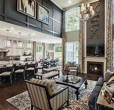 toll brothers living room vaulted ceilings living room