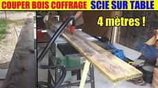 scie a bois sur table couper du bois de coffrage scie sur table parkside ptk
