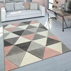teppich rosa grau teppich wohnzimmer rosa grau pastellfarben 3 d design