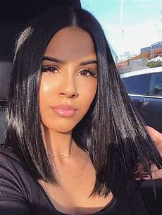 44 off medium length center parting straight lace front human hair wig rosegal