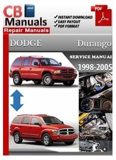 small engine repair manuals free download 1998 dodge dakota club on board diagnostic system dodge durango 1998 2005 service manual free download service repair manuals