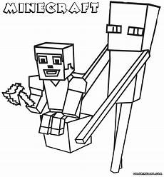 minecraft coloring pages coloring pages to and