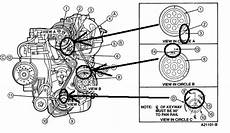 Can I Get A Diagram 2 3l 1994 Ranger Timing Belt Not Sure