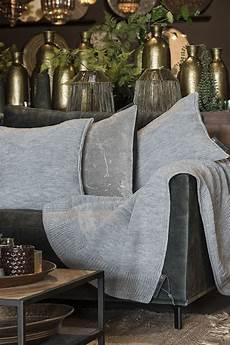 schlafzimmer joly joly plaid grau modern gestrickte wohndecken knit factory
