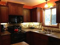 Lowes Kitchen Backsplashes Our Kitchen Backsplash Done With Airstone From Lowe S