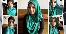 Tutorial Cara Memakai Jilbab Pashmina Ala Zaskia Adya Mecca
