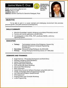 394bc hrm resume objective ideas collection sle for ojt