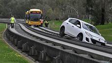 Car Drives Up O Bahn Again The Advertiser