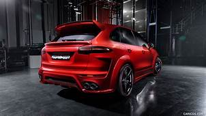 2016 TECHART Magnum Based On Porsche Cayenne  Rear HD