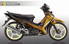 Modifikasi Supra 125 Airbrush by Top Modifikasi Motor Bebek Terbaik Terbaru Modifikasi