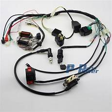 90cc atv wiring harness diagram 50cc 70 90cc 110cc 125cc wire loom wiring harness cdi assembly atv coolster in motorbike