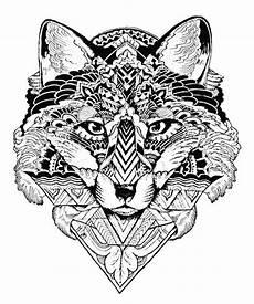 wolf 2 ausmalbilder f 252 r erwachsene