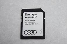 audi navigation update 2017 genuine audi a1 a3 a6 q3 sat nav navigation sd card europe