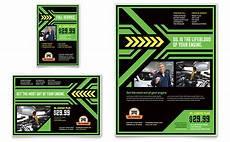 change flyer ad template design