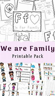 family worksheets free 18612 family theme preschool and family worksheets for kindergarten with