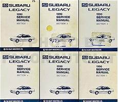 car repair manuals download 1989 subaru legacy regenerative braking 1990 subaru legacy repair shop manual supplement original