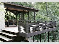 25  Well Designed Deck Railing Ideas for your Beautiful