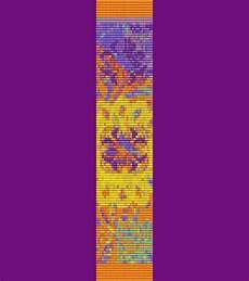 Indianische Muster Malvorlagen Pdf Sommergarten Armband Bead Pattern Webstuhl Und