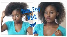 easy hairstyles quick wash and go transitioning hair anti shrinkage edition youtube
