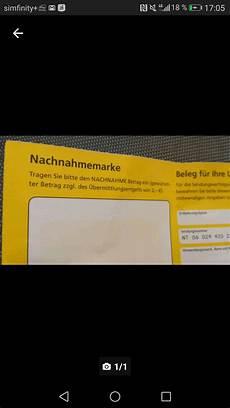 post nachnahme nicht nachnahmebetrag deutsche post nachnahme