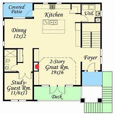 uphill slope house plans plan 85080ms 4 bed modern for an uphill lot in 2020