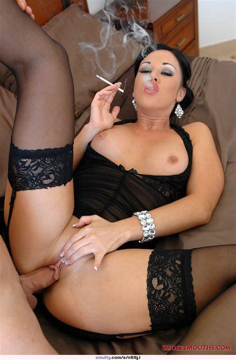 Smoking Fetish Boobs