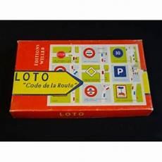 Jeu De Loto Quot Code De La Route Quot Vers 1960 Brocante