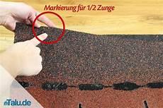 Dachschindeln Selbst Verlegen Dach Mit Bitumenschindeln