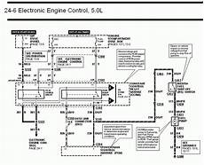 2004 mustang fuel wiring diagram 94 95 mustang pcm to fuel injectors wire diagram