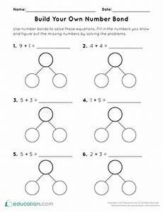 addition number bond worksheets 8792 number jumble worksheet education