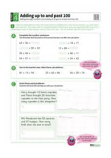 year 4 maths homework addition up to and past 100 by tes homework teaching resources tes
