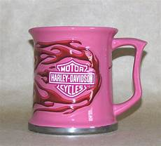 Harley Davidson Mugs by Harley Davidson Large Pink Coffee Mug Pink Flames Dishes