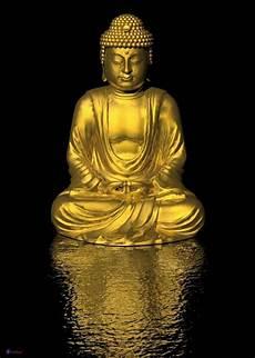 bilder buddha poster goldener buddha in din a1 gr 246 223 e laminierte qualit