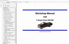 online service manuals 1999 ford f350 head up display 1999 ford f250 f350 f450 f550 repair manual
