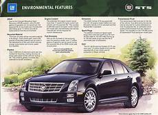 free download parts manuals 2008 cadillac sts v security system 2008 cadillac sts environmental features brochure fact sheet ebay