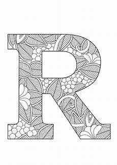mandala coloring pages letters 17930 31 best letters to color images on letters coloring pages and calligraphy