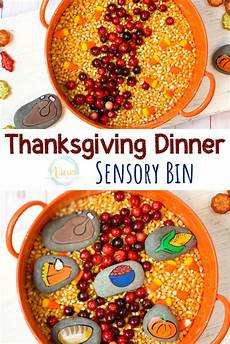worksheets for nursery 19281 thanksgiving dinner sensory bin with painted rocks sensory bins thanksgiving activities