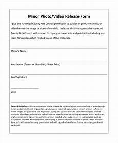 photo release form template 9 free pdf documents download free premium templates