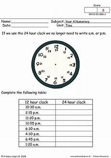 time worksheets uk 3219 numeracy time 24 hour clock worksheet primaryleap co uk