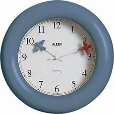alessi kitchen clock wanduhr blau lovinhome wanduhren
