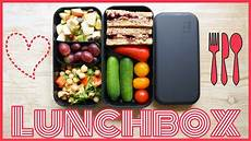Mittagessen Zum Mitnehmen Gesundes Pausenbrot Snack