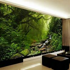 Wall Mural Nature photo wallpaper 3d stereo forest nature landscape
