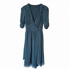 robe longue comptoir des cotonniers robe mi longue comptoir des cotonniers 36 s t1 vert