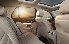 2019 mercedes glc interior back view o silver