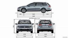 Volkswagen Golf 7 Variant 2014 Dimensions Hd
