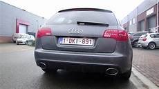 audi a6 rs6 look exhaust sound sportauspuff echappement