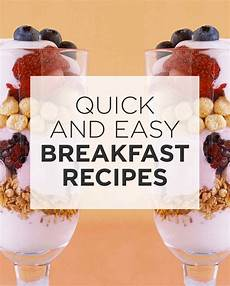 quick and easy breakfast recipes martha stewart
