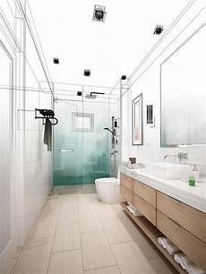 Bathroom Design Of Thumb by Abstract Sketch Design Of Interior Bathroom Stock