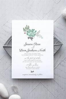 Wedding Invitation Sles Free Templates